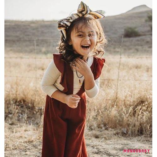 Bộ áo liền quần dáng bèo xinh xắn dành cho bé gái