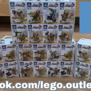 Lego xếp hình lính sa mạc