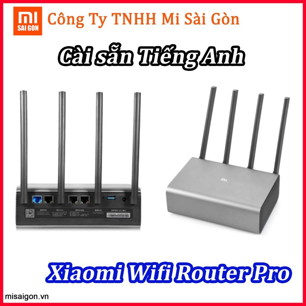 [TIẾNG ANH] Router phát sóng XIAOMI WIFI PRO
