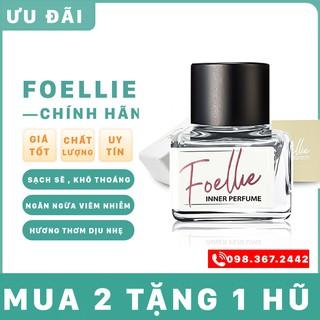 Nước hoa vùng kínFREESHIPnước hoa vùng kín Foellie trắng shop có che tên HALINLOKP8
