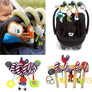 ♚➔❤Hot Funny 1pc Lovely Baby Toy Newborn Rattles Stroller Bed Hanging Educational Plush Toys