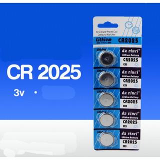 Combo vỉ (5 viên pin) cho đồng hồ điện tử CR2016 CR2025 Lithium Battery 3V