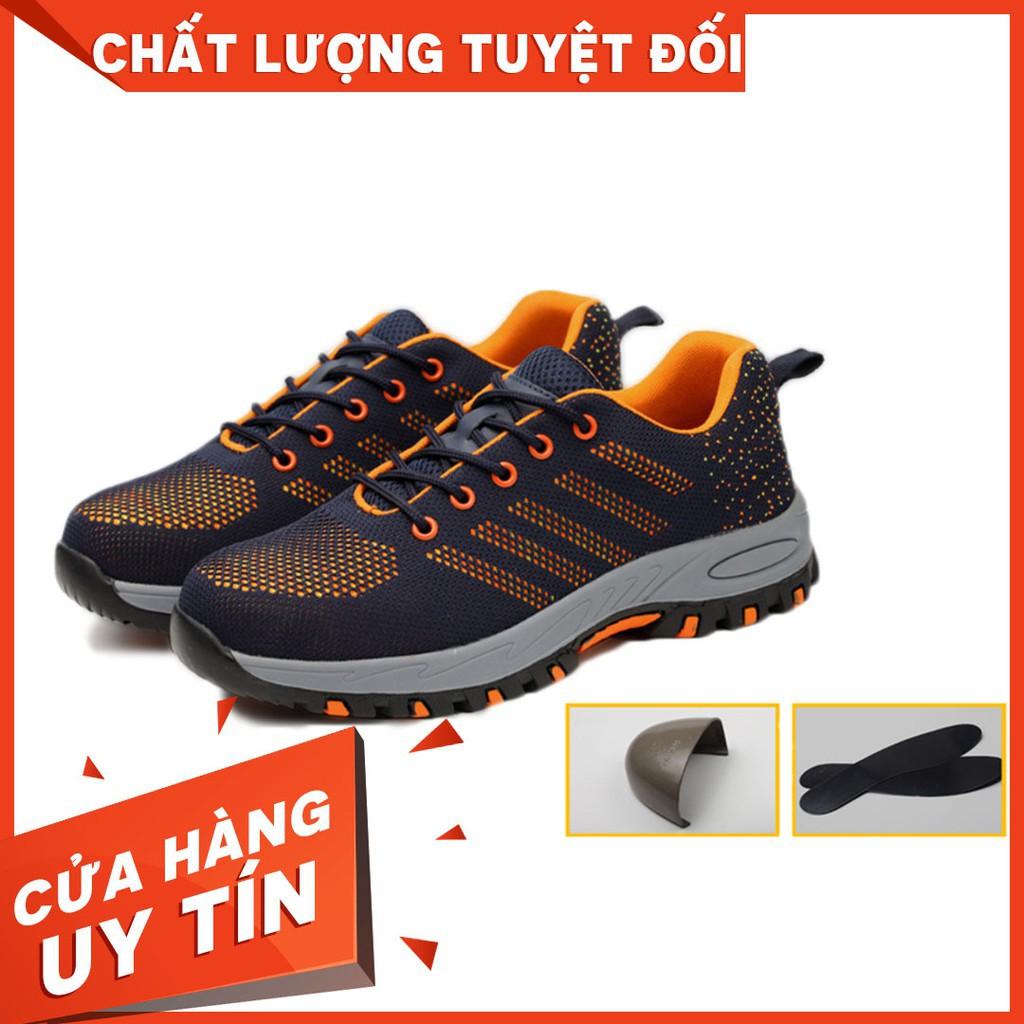 Giày bảo hộ lao động thời trang thể thao - Mũi thép chống đinh QC M06