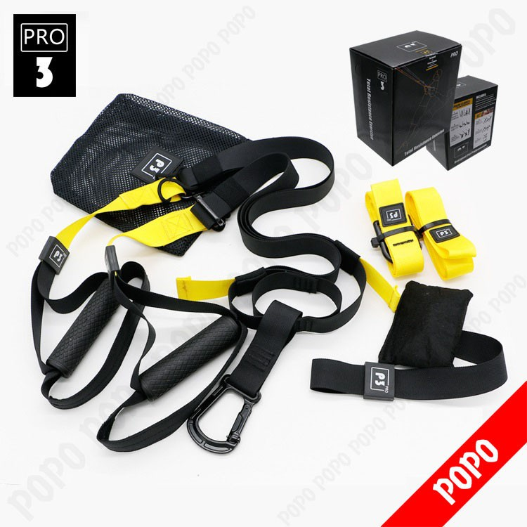 Bộ dây tập kháng lực đa năng GYM & YOGA - THE TRX PRO P3 - 3050612 , 809254999 , 322_809254999 , 1299000 , Bo-day-tap-khang-luc-da-nang-GYM-YOGA-THE-TRX-PRO-P3-322_809254999 , shopee.vn , Bộ dây tập kháng lực đa năng GYM & YOGA - THE TRX PRO P3