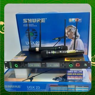 [Chính Hãng] Micro không dây SHURE UGX-23 phiên bản 2021 Loại 1 Có chế độ tự ngắt mic ugx23 karaoke