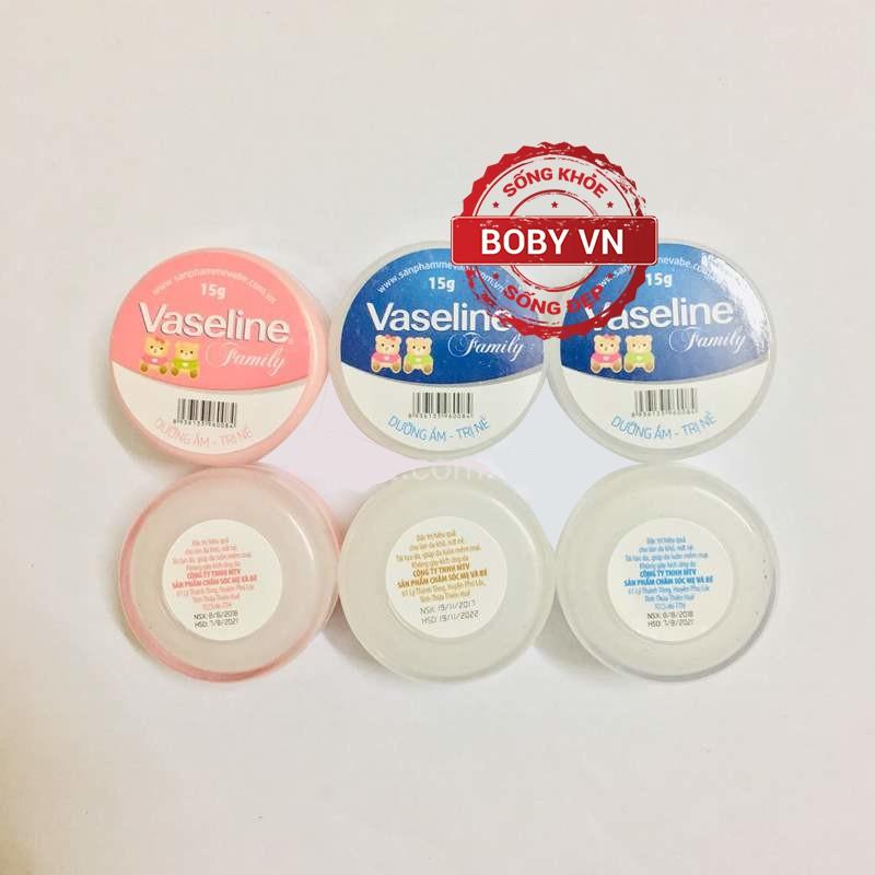 Kem nẻ Vaseline Family - Chống nẻ hiệu quả - Loại 15g - Chính hãng