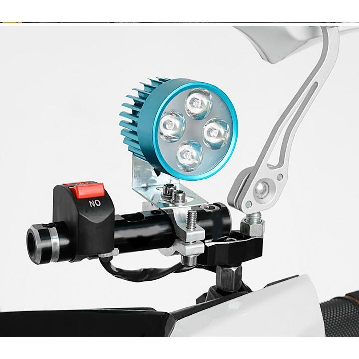 Thanh đa năng gắn chân kính xe máy