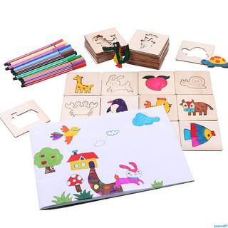 Lin Fang Graffiti Painting Template Painting Set Tool Colored Pencil Graffiti Template Learning Art Supplies Educational
