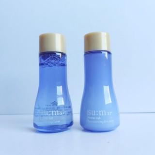 Cặp nước hoa hồng và sữa dưỡng Sum xanh cấp nước, giảm mụn, kiềm dầu - Sum37 Water Full 20ml thumbnail