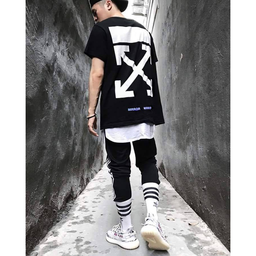 Áo thun Oversize OFF WHITE trắng