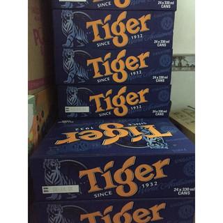 Bia Tiger lon 330ml x 24 lon