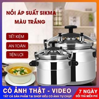 Nồi áp suất ⭐️ SIÊU BỀN ⭐️ Nồi áp suất 18 lít 32cm dày, bền, đẹp tiết kiệm thời gian và nhiên liệu khi nấu nướng