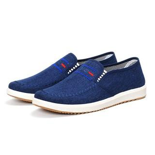 Giày lười vải nam – Vải bền , đẹp.
