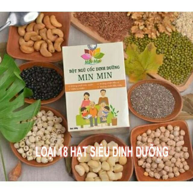 Bột ngũ cốc Min Min