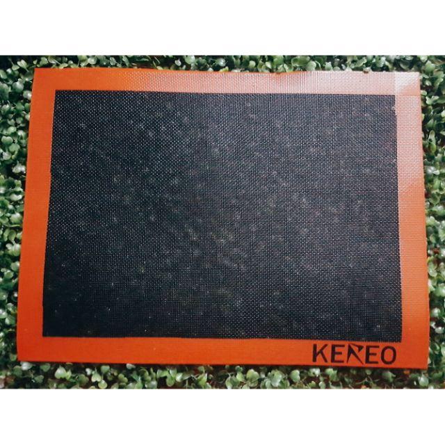 Tấm nướng bánh chống dính đen Kereo - Tấm nướng thủy tinh chống dính đen - Black Non-stick baking silpat
