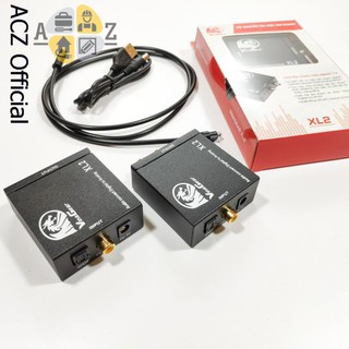 [Mã ELFLASH5 giảm 20K đơn 50K] Bộ chuyển đổi âm thanh optical khuếch đại XL2 - BH 12 tháng