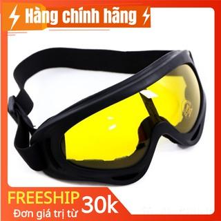 Mắt kính đi phượt uv400 x400 gắn nón mũ bảo hiểm 1/2 3/4 mũ cào cào