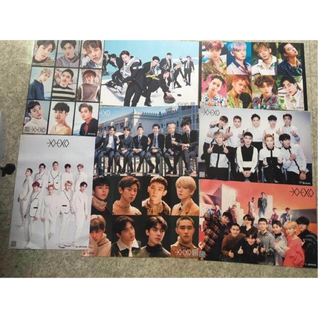 Poster EXO và thành viên