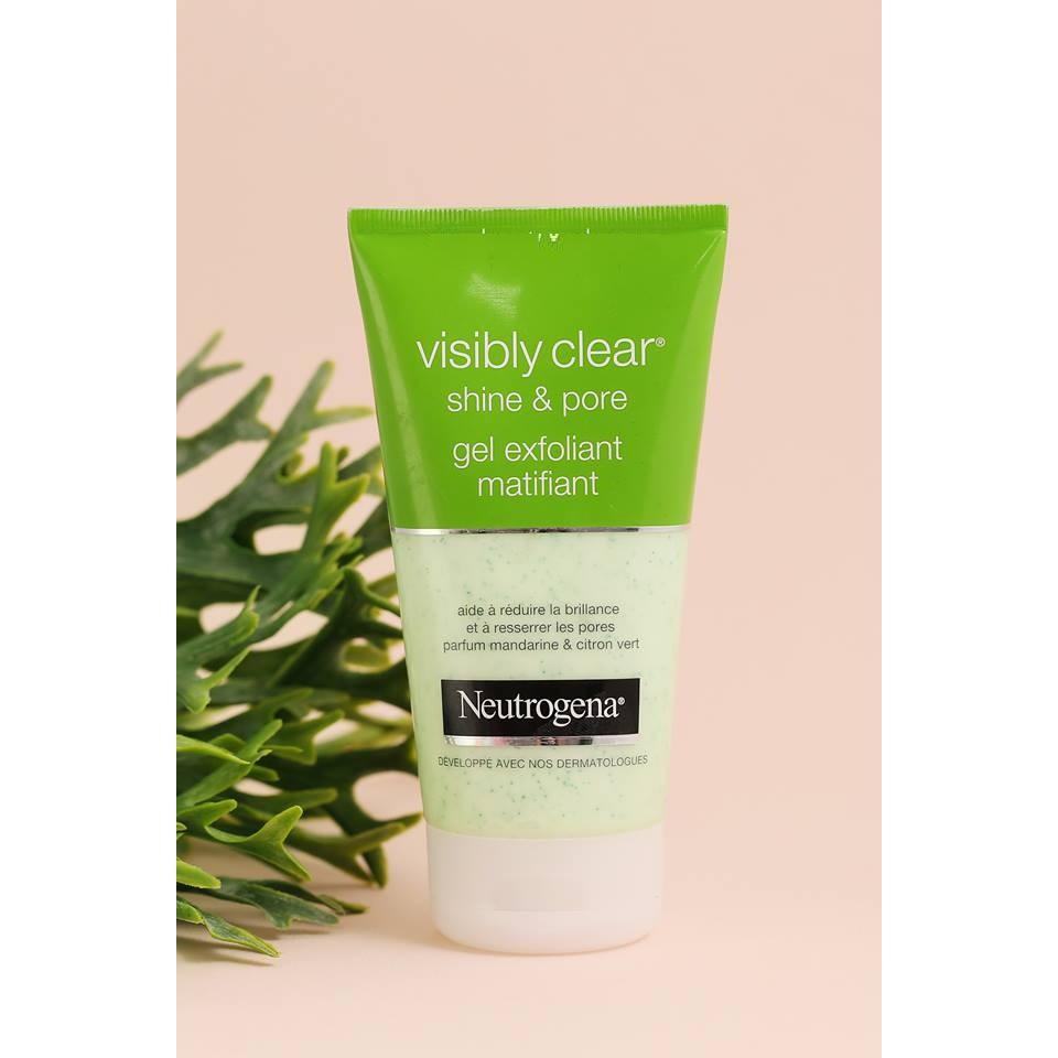 Sữa Rửa Mặt Neutrogena Visibly Clear Cleansing Foam - Shine & Pore
