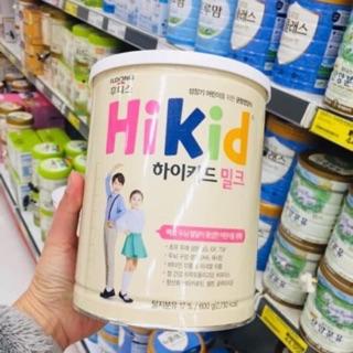 Sữa Hikid tăng chiều cao vị Vani 600g – Date T10/2021