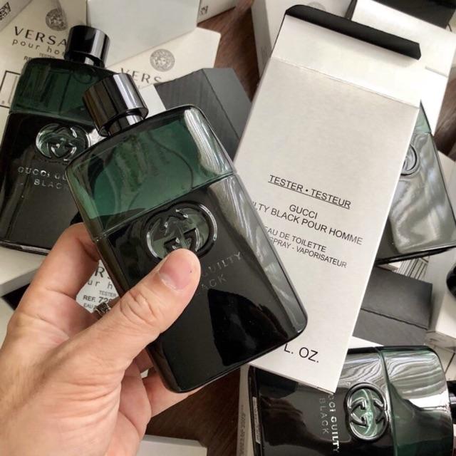Nước hoa Nam Gucci Guilty Black Pour Home 90ml TESTER