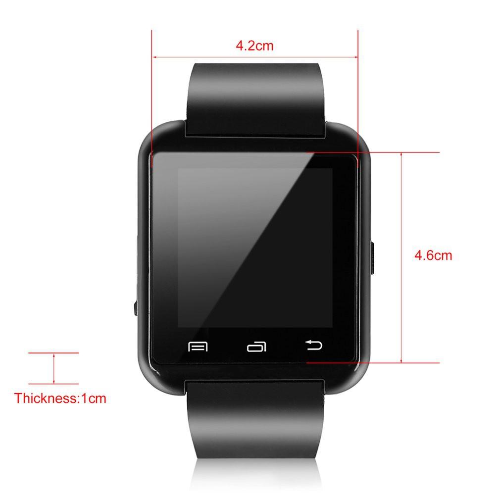 Đồng Hồ Thông Minh Kết Nối Bluetooth Hỗ Trợ Camera Cho Điện Thoại
