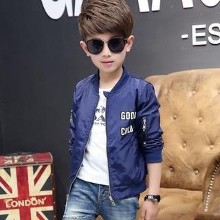 Áo khoác bomber trẻ em nam, phong cách hiện đại, thời trang 2018 M1076098