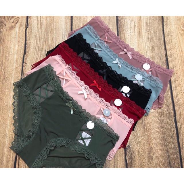 CHUYÊN SỈ: 10 quần lót cotton thun lạnh dòng cao cấp chất đẹp