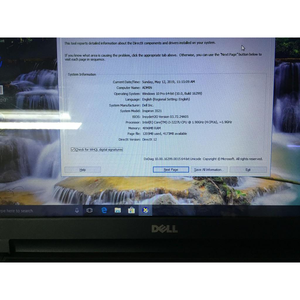 DELL INSPIRON 3521-I3-GEN 3-RAM 4GB-HDD 500GB-2 CARD RỜI AMD 7670M