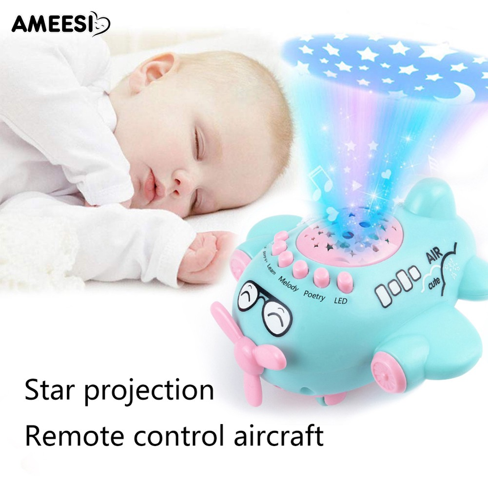 🔅🔆AMEESI  Projection Aircraft Airplane Educational Newborns Baby Toy