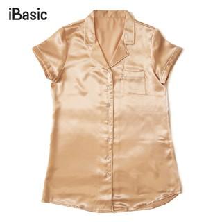 Đầm ngủ satin iBasic SW039 thumbnail