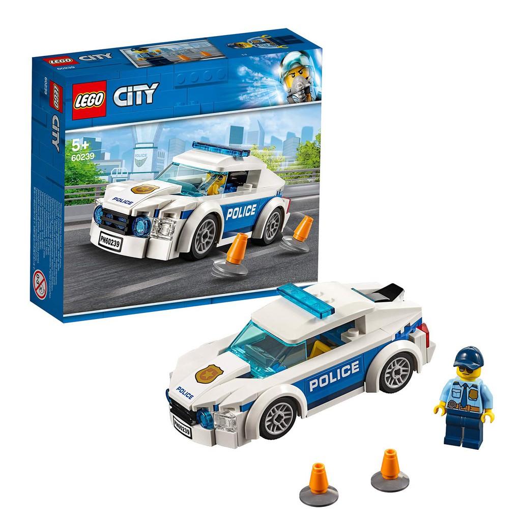 [Mã TOY5 giảm 10% đơn 50K] LEGO CITY Xe Tuần Tra Cảnh Sát 60239