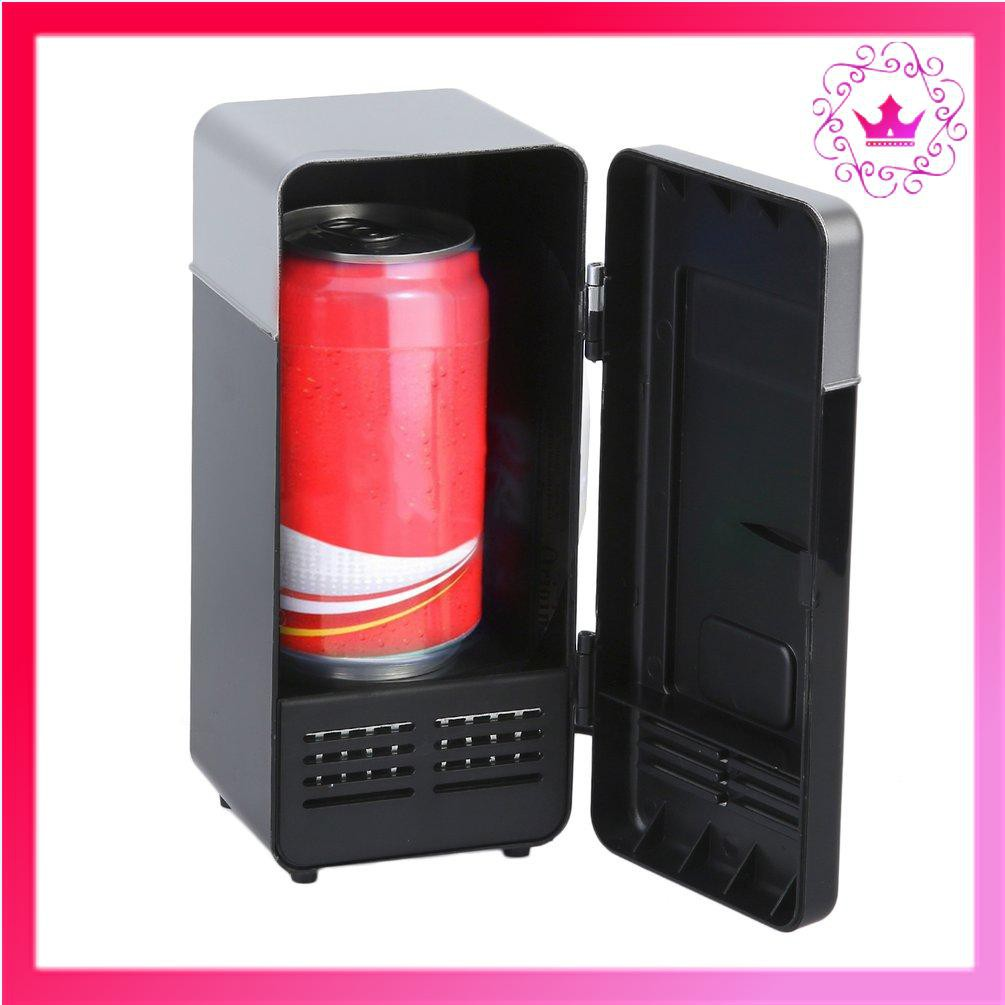 Tủ Lạnh Mini Sạc Usb Mới Cho Xe Hơi / Tàu Thuyền chính hãng 319,000đ