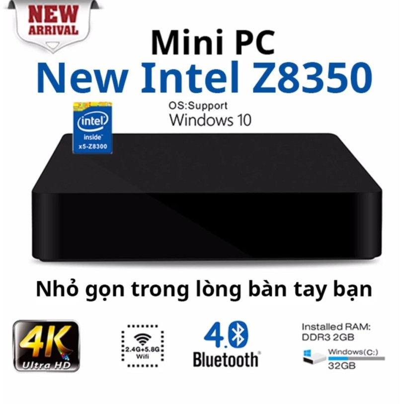Máy tính để bàn mini Intel Z8350 Ram 2G - Home and Garden - 3613806 , 1340720213 , 322_1340720213 , 2990000 , May-tinh-de-ban-mini-Intel-Z8350-Ram-2G-Home-and-Garden-322_1340720213 , shopee.vn , Máy tính để bàn mini Intel Z8350 Ram 2G - Home and Garden
