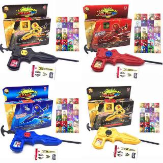 Beyblade Burst Fight Two-way Launcher With 24 Character Cards Kids Gift Toy