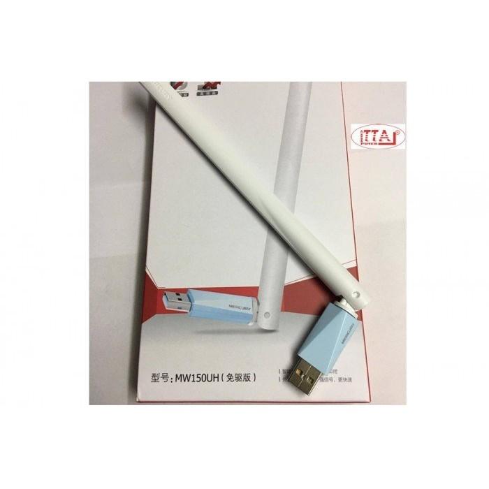 USB thu Wifi Mercury MW150UH chính hãng 1 angten