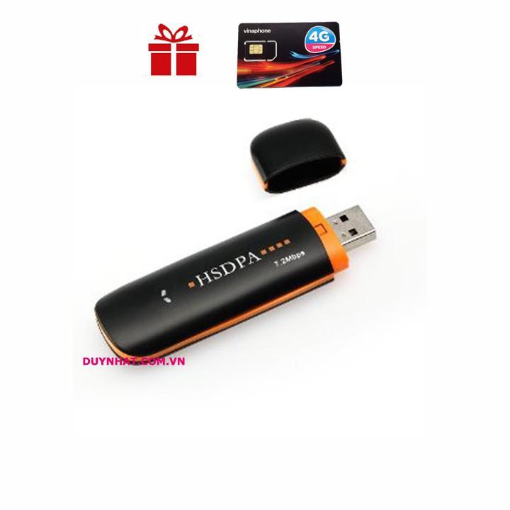 [Nhập ELCLMAY hoàn 30K xu đơn từ 200K]USB 3G 4G HSDPA SIÊU TỐC ĐỘ Giá chỉ 220.000₫