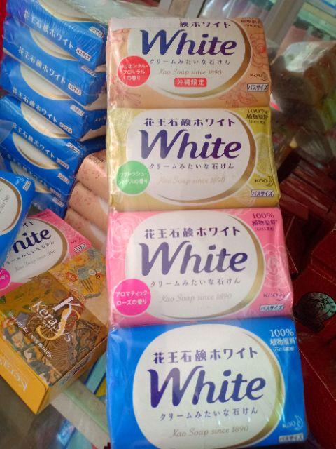 Xà Bông Tắm, Rửa Tay Kao White Nhật Bản 130g