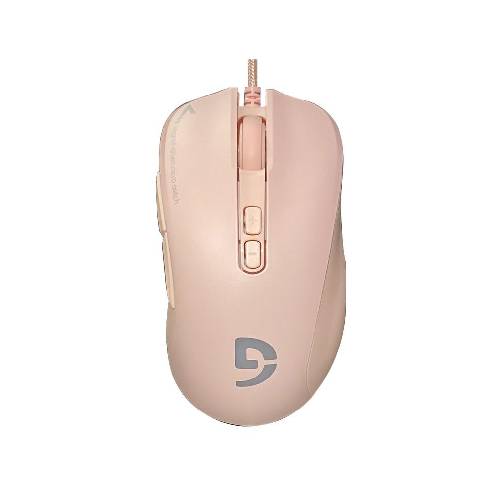 Chuột có dây game Fuhlen G90 Pink - bảo hành 24 tháng chính hãng.