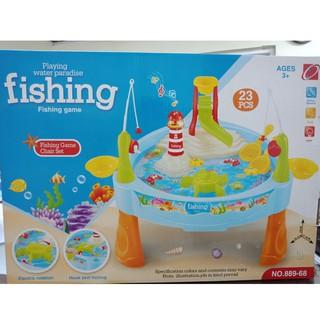 Đồ chơi câu cá dùng pin có đèn có nhạc