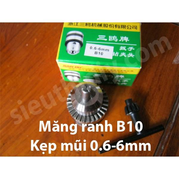 Đầu khoan măng ranh B10 chế khoan cho động cơ