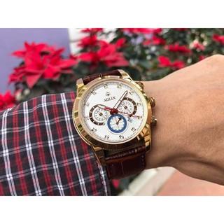 Đồng hồ nam Aolix dây da