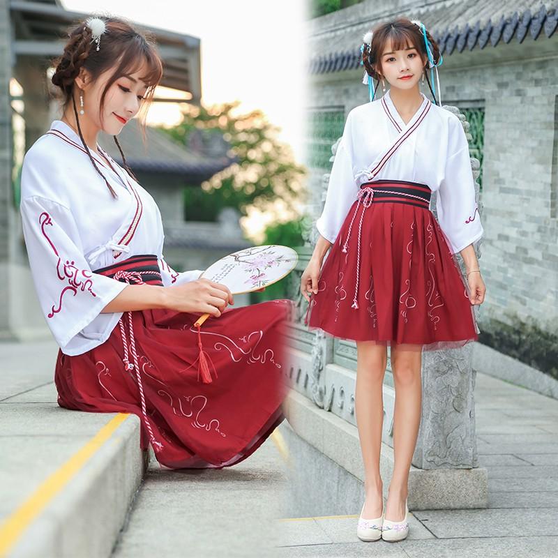 Hán Phục Bỉ Ngạn Trung Hoa ( Váy Ngắn)