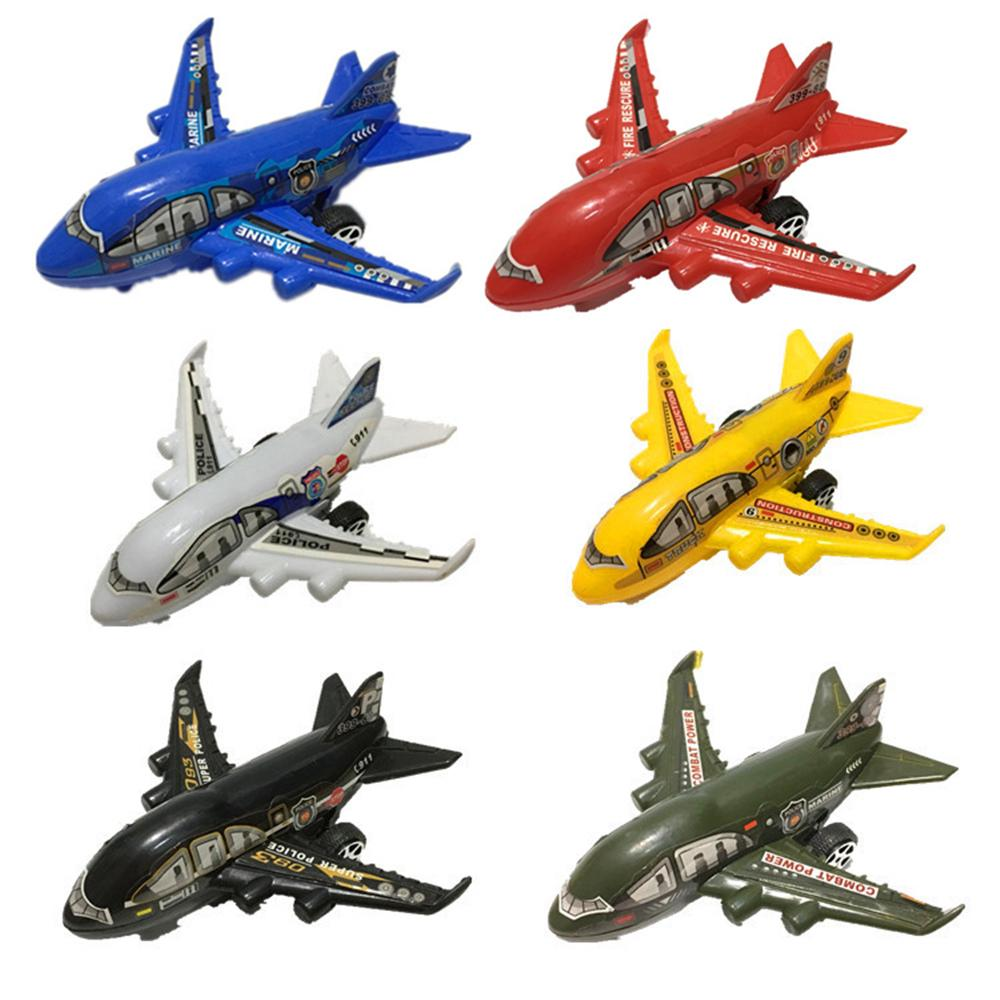 Plastics Children Toys Aircraft Airplane Plane Model Simulation Toys Kids 6pcs