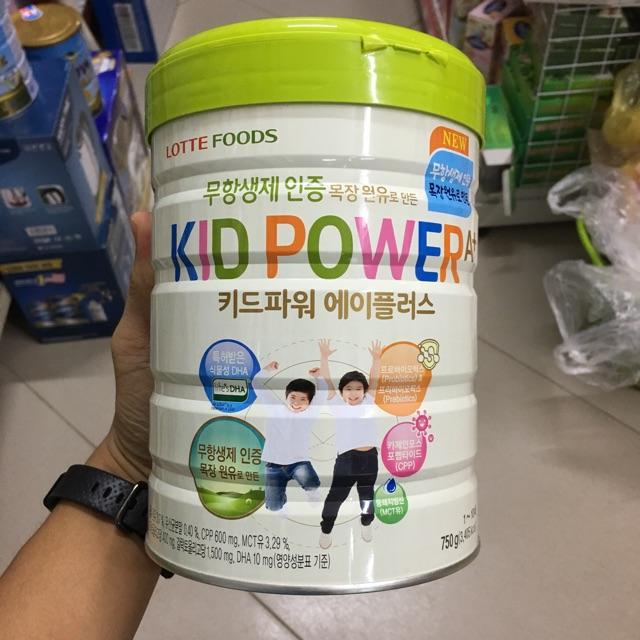 Sữa lottefoods Kids Pow