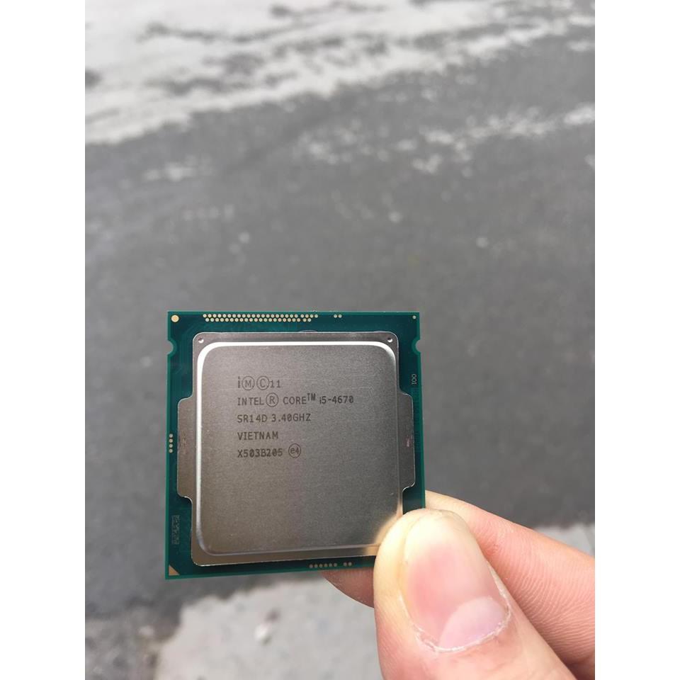 Bộ xử lý Intel® Core™ i5-4670 6M bộ nhớ đệm, tối đa 3,80 GHz Giá chỉ 2.000.000₫