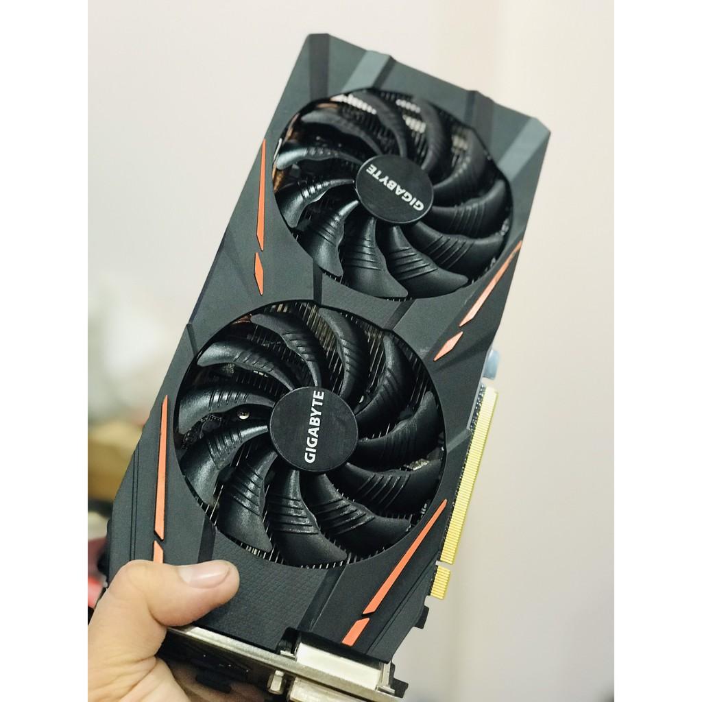 Card màn hình VGA GIGABYTE RX580 8G Gaming Led RGB - hàng sạch đẹp, hết bảo hành hãng, bảo hành trách nhiệm 1 tháng