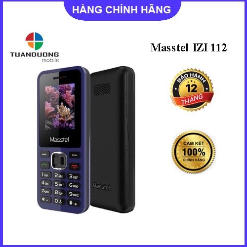 Điện Thoại 2 Sim Masstel Izi 125 chữ siêu to - Hàng chính hãng - BH 12 tháng
