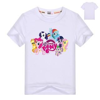 Áo thun tay ngắn in hình My Little Pony cho bé gái