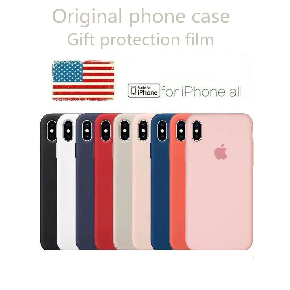 [Freeship toàn quốc từ 50k] Half Cover VIỀN ỐP CHỐNG BẨN LOGO TÁO CAO CẤP - ỐP IPHONE 6/7/8/X/XR/XS Max Silicone Case